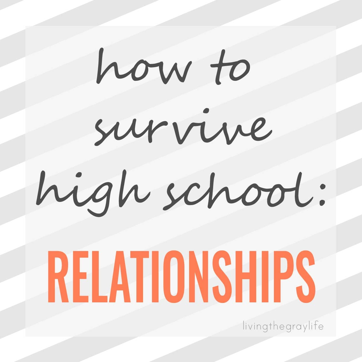 dating in high school advice