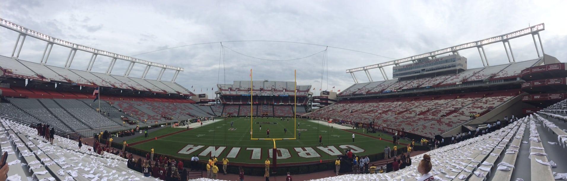 game day at the University of South Carolina Williams Brice Stadium