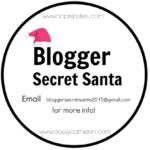 blogger secret santa