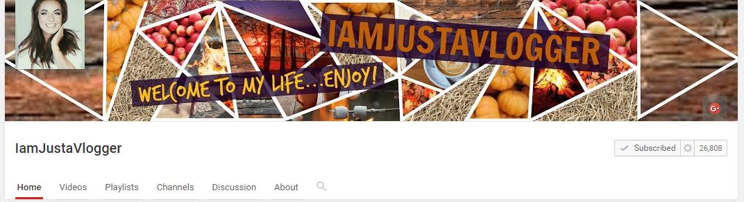vlogmas vloggers to watch IAmJustAVlogger
