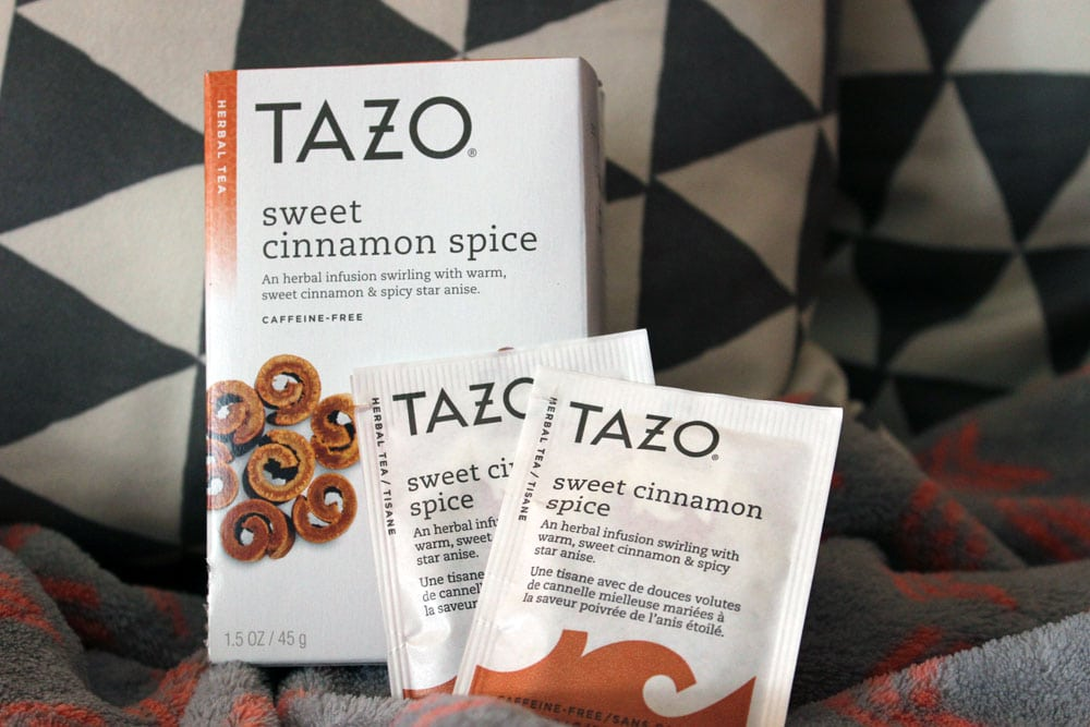 January favorites cinnamon tea