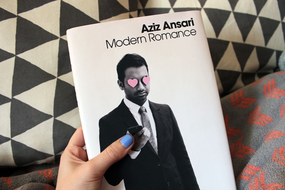january favorites modern romance aziz ansari