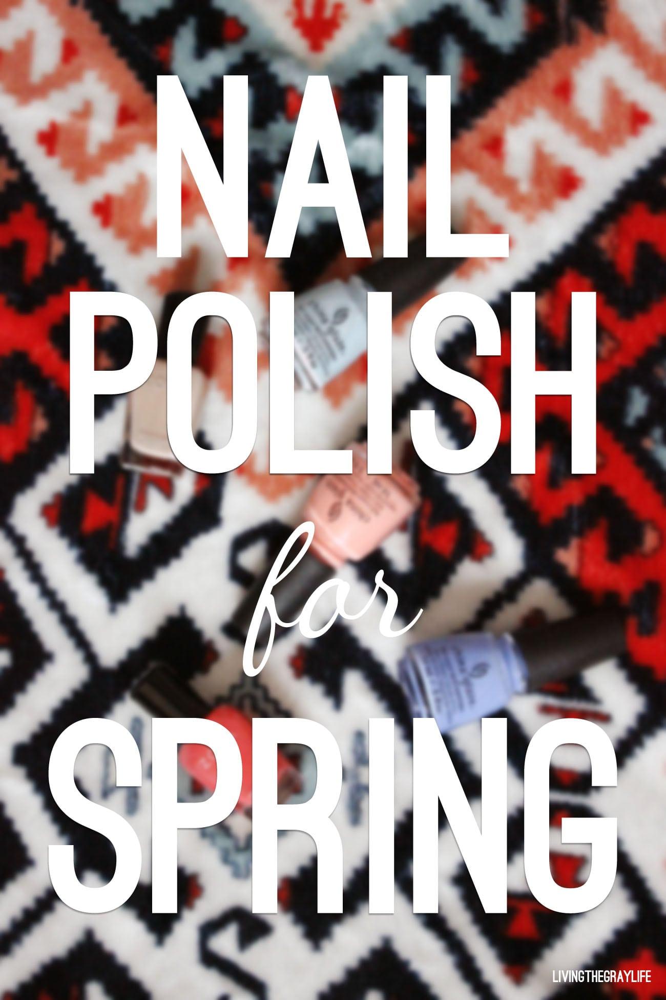 nail polish for spring