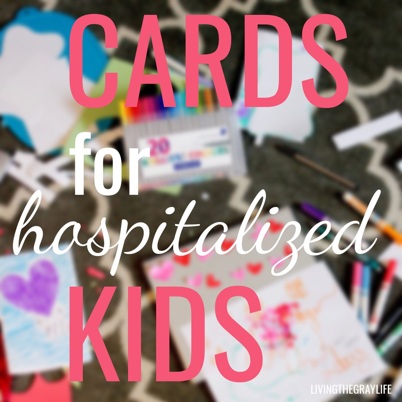 cards for service cards for hospitalized kids