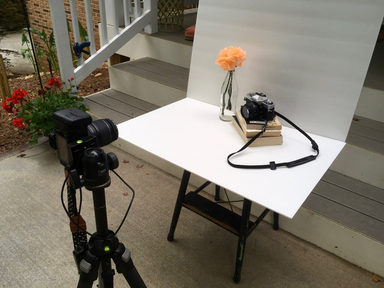 beginner blogger photography behind the scenes
