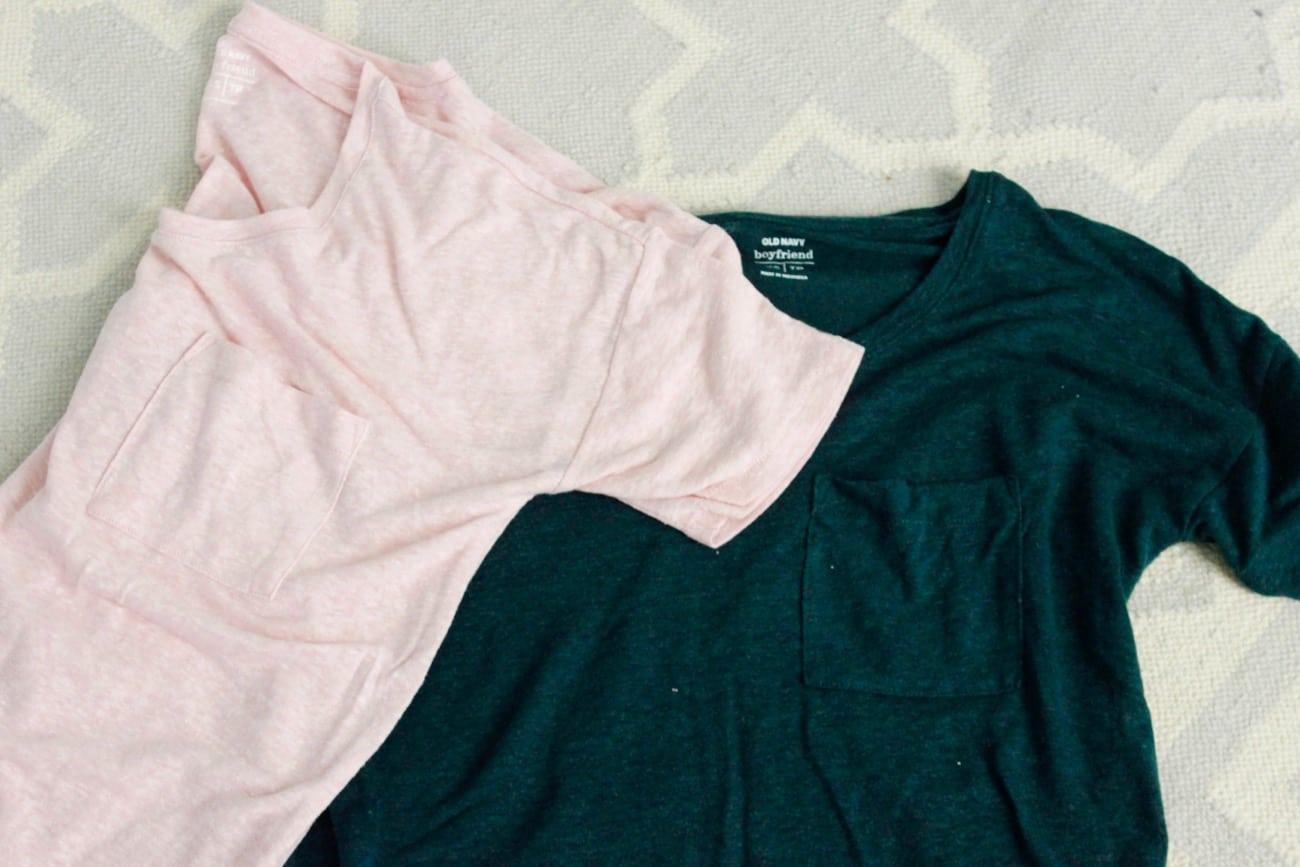 summer haul old navy boyfriend shirts