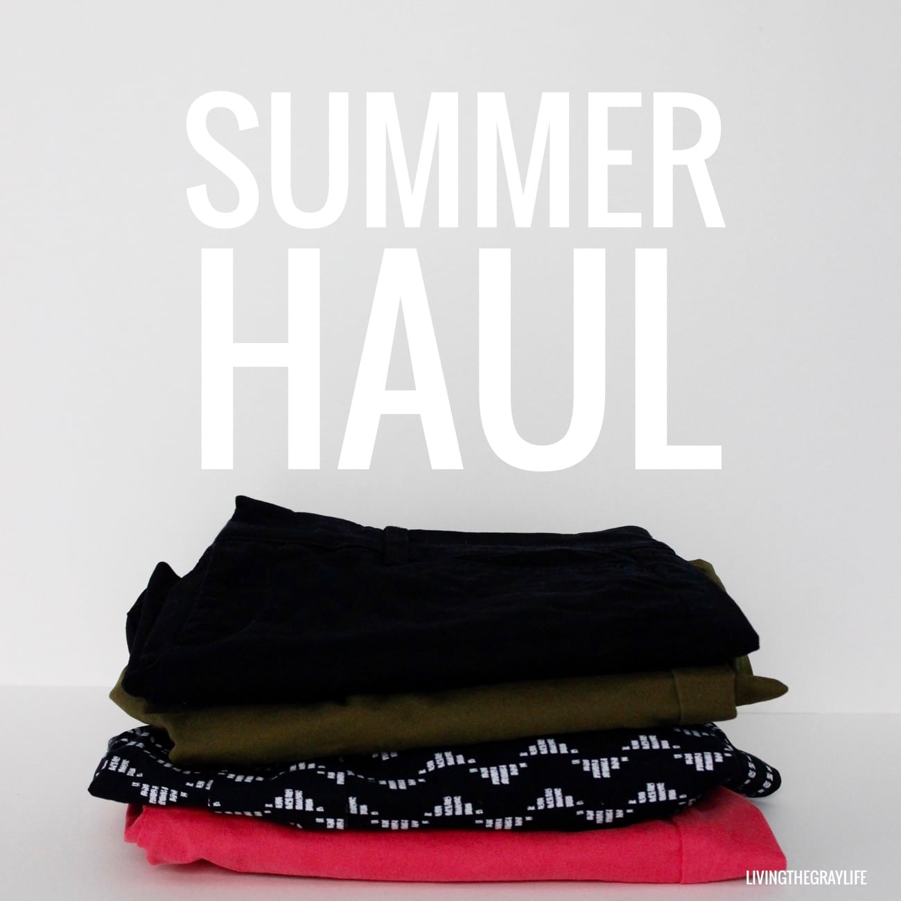 summer haul old navy, costco, and makeup