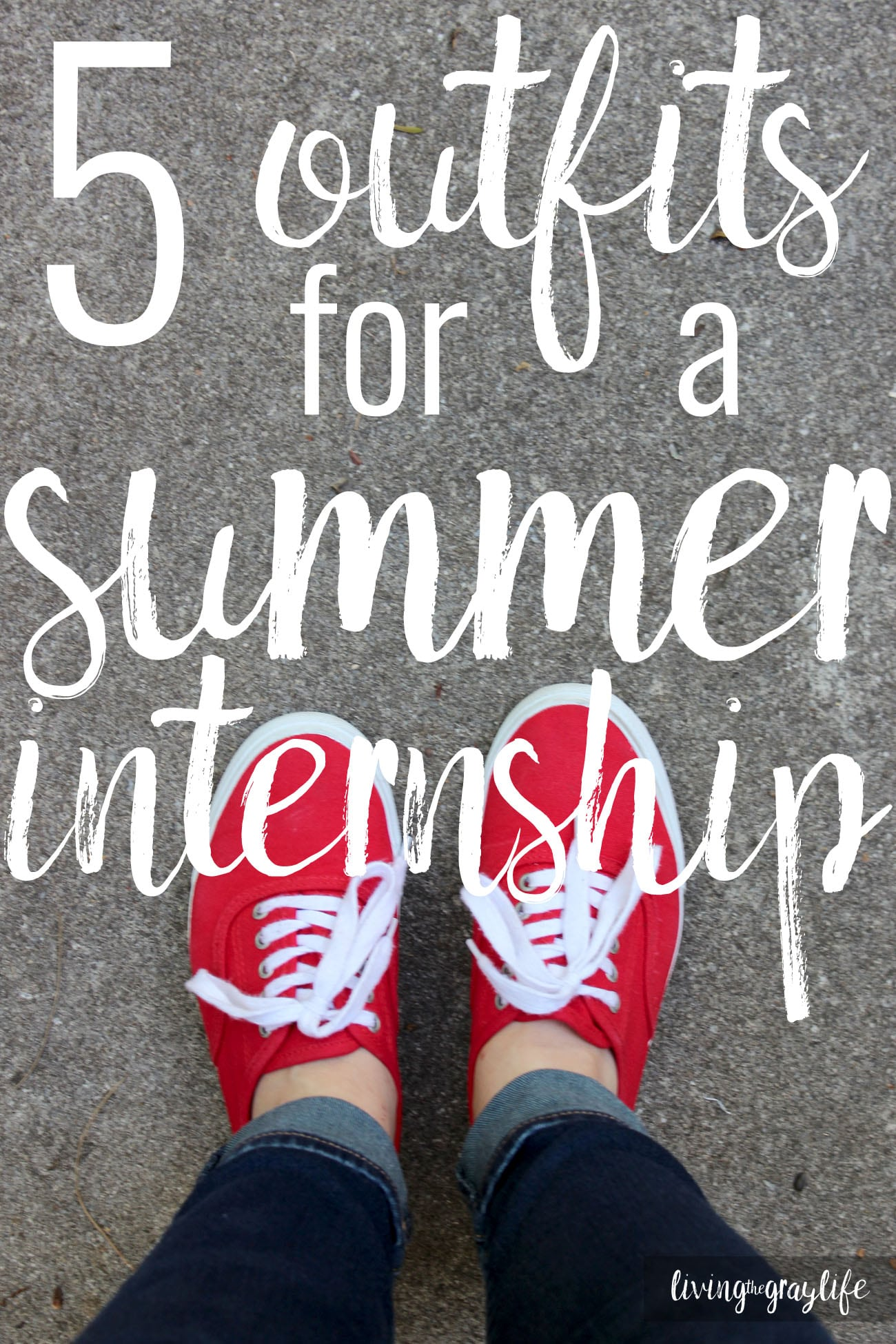 Internship Outfits. What to wear for a summer internship. 5 outfits for a summer internship.