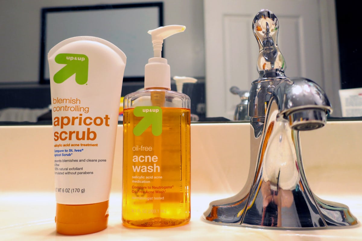 July Recap | Acne Face Washes from Target