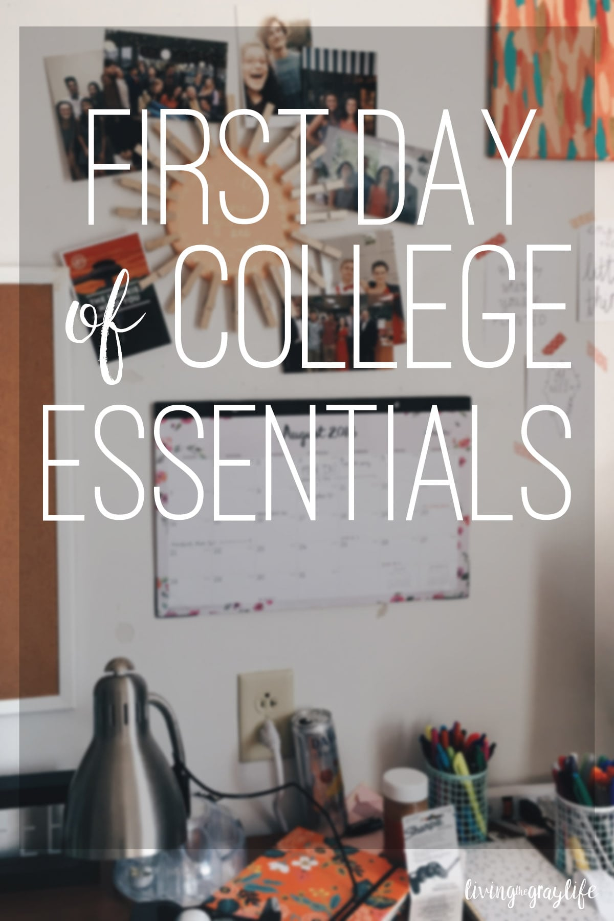 College Essentials for the First Day