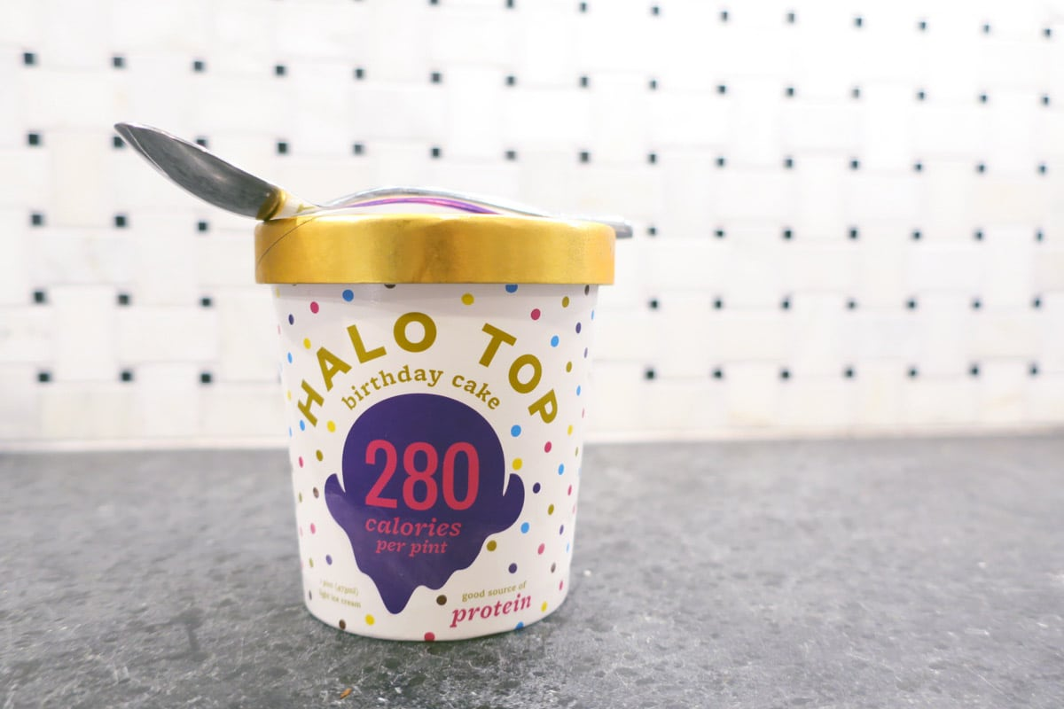 July Recap | Halo Top Birthday Cake Ice Cream