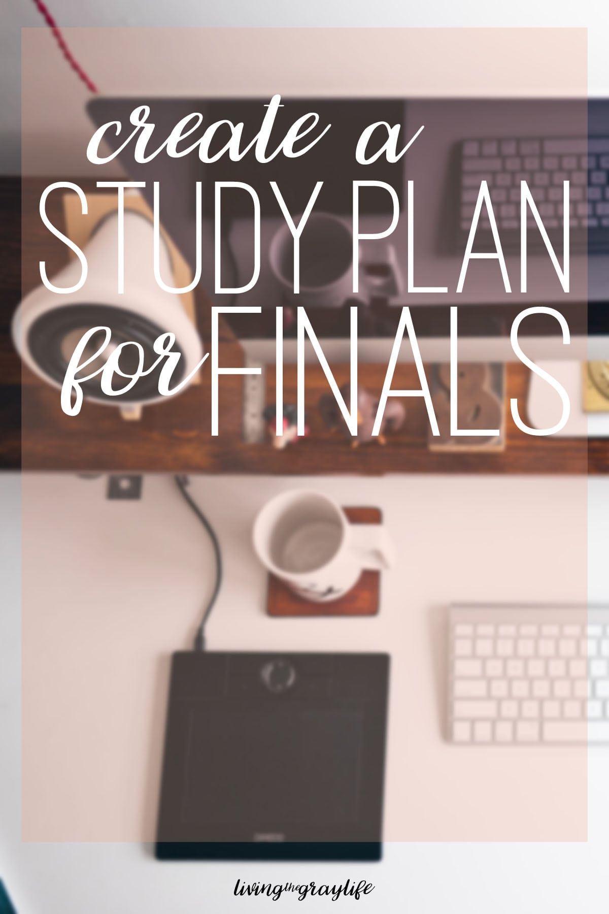 Don't fall behind this finals season! Create your very own finals study plan to make sure you get those A's and avoid all the unnecessary stress.
