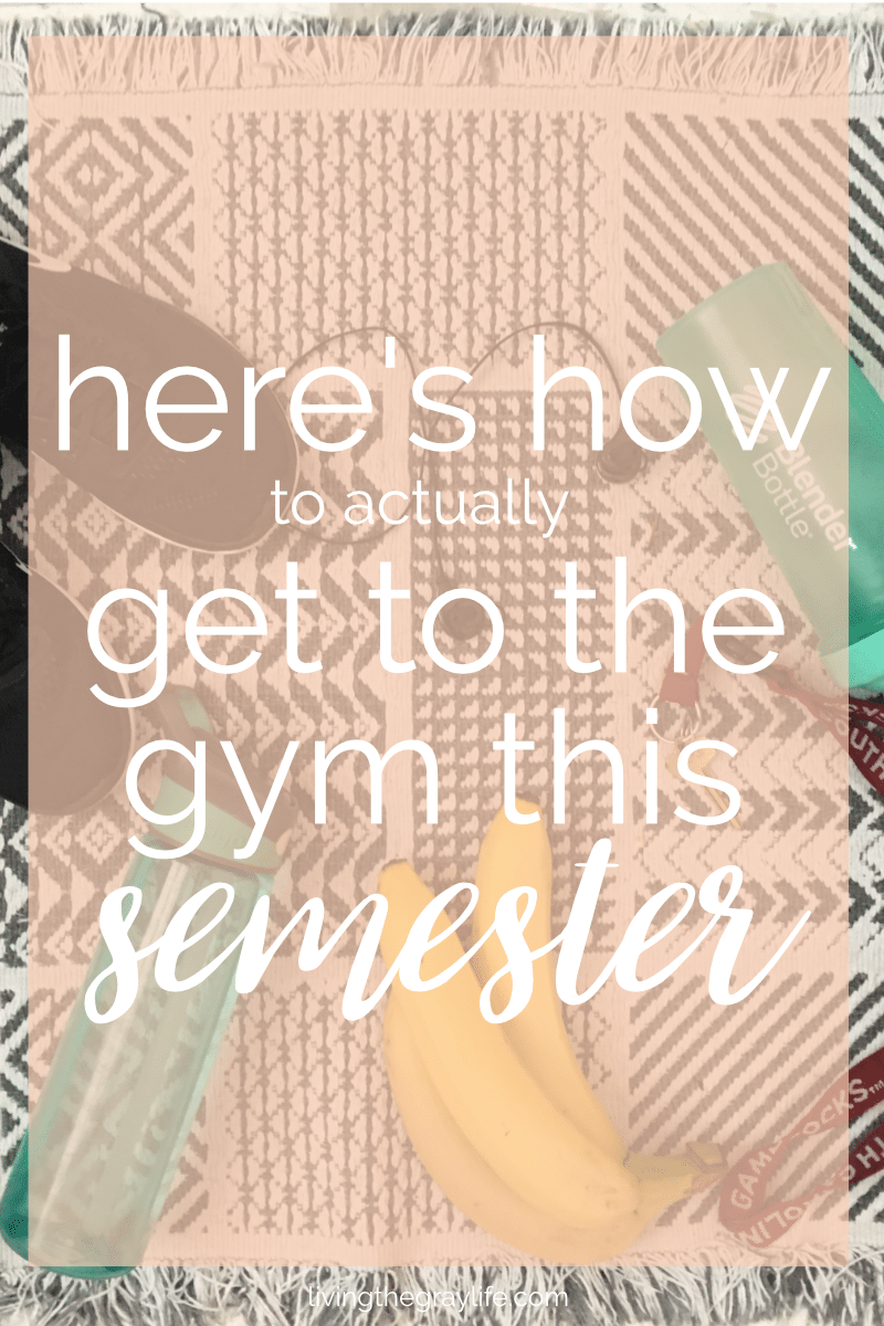 Getting to the gym doesn't have to be hard. Here are some tips to make sure you pull through with those fitness goals.