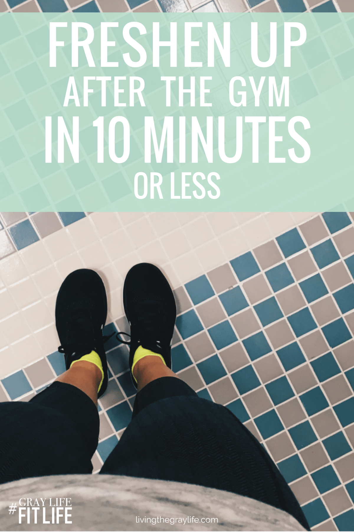 Think you don't have time for the gym because you don't have time to shower after your workout? Wrong. This simple 10-minute gym routine will get you in and out of the gym in no time!